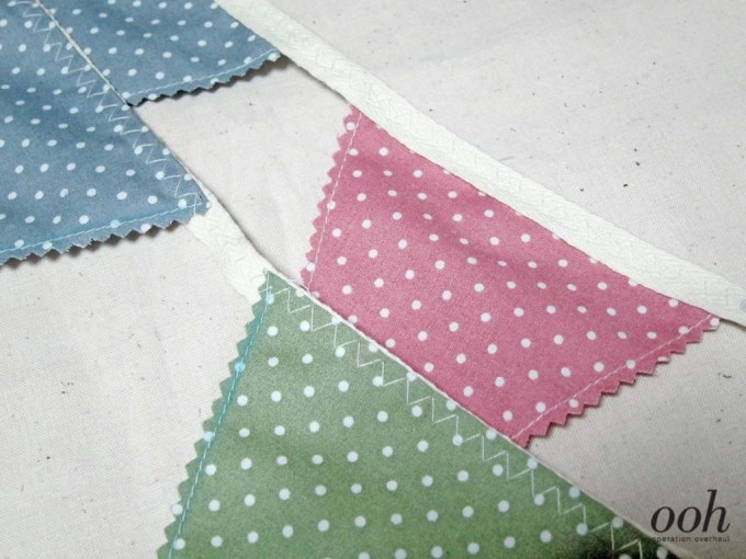 OOH - Fabric Buntings Sew On