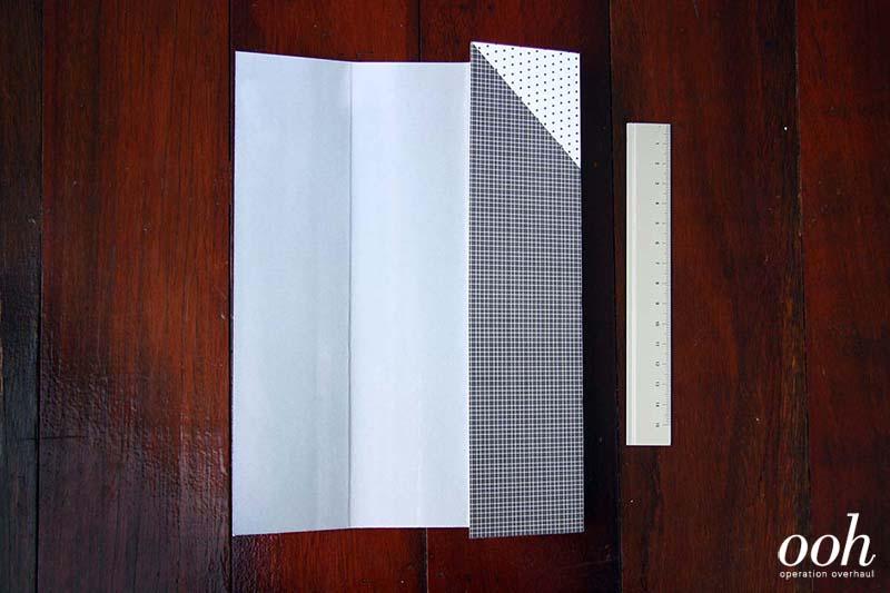 OOH - Origami Namecard Holder Step 2