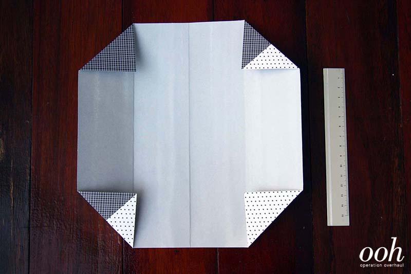 OOH - Origami Namecard Holder Step 3