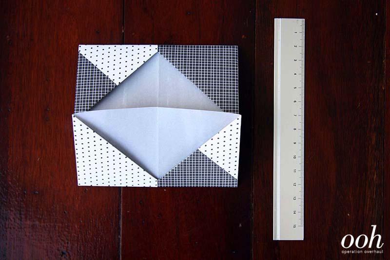 OOH - Origami Namecard Holder Step 6