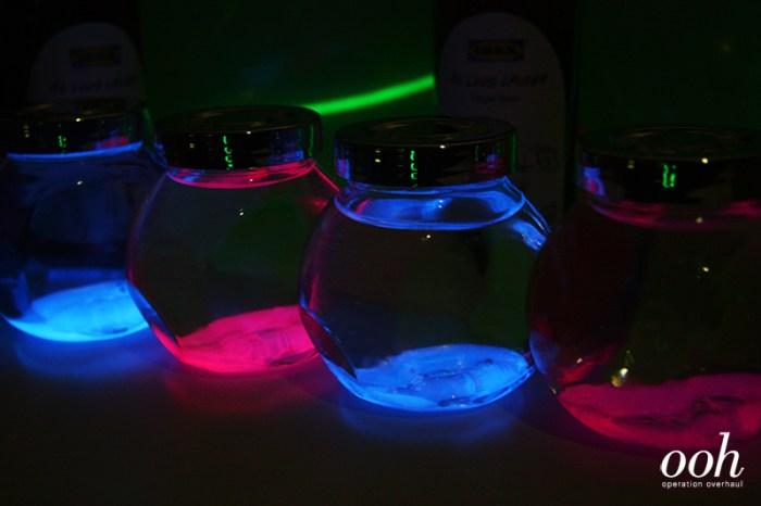 OOH x IKEA - Glowstick Jars