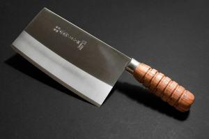 銀6寸片刀木柄