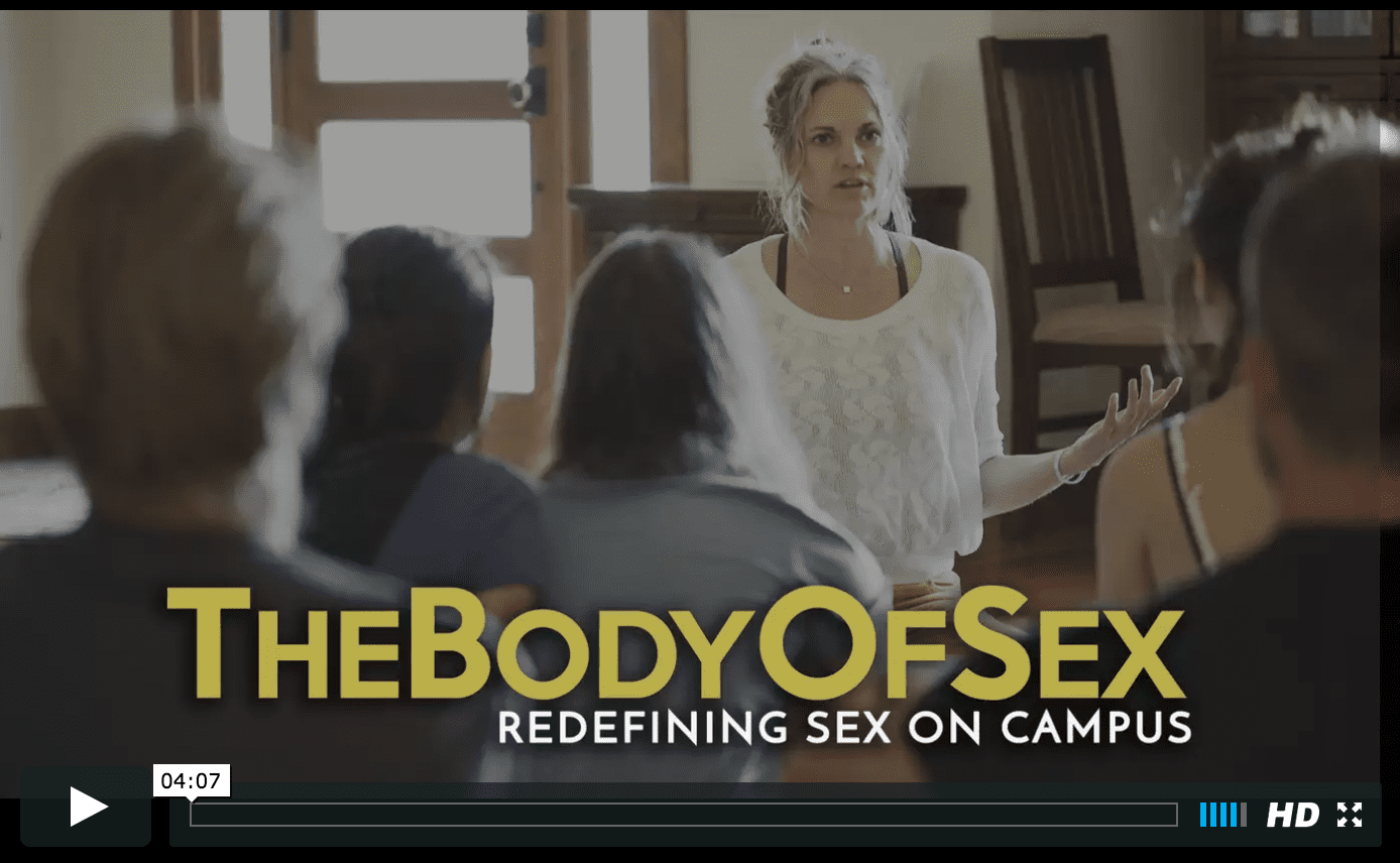 This woman is on a mission to change rape culture on campuses and her solution is brilliant!