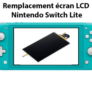 ecran lcd nintendo switch lite