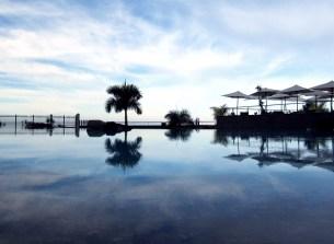 Hotel pool on Gran Canaria