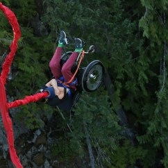 Wheelchair Jump Chair Covers North Cheam Yoocan Dylan Lamoureux Bungee Jumping In A