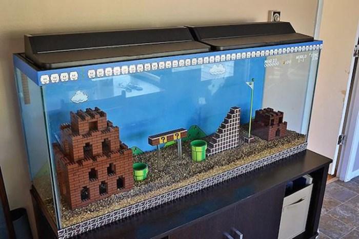 Aquarium Mario Bros