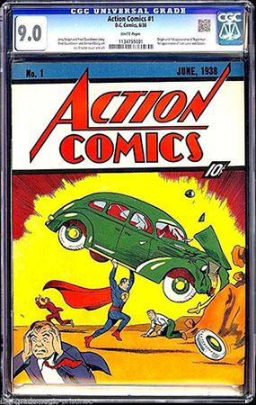 action comics 1 superman ebay cover