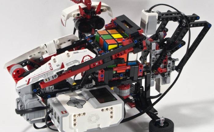 Mindstorms EV3 Rubik's Cube