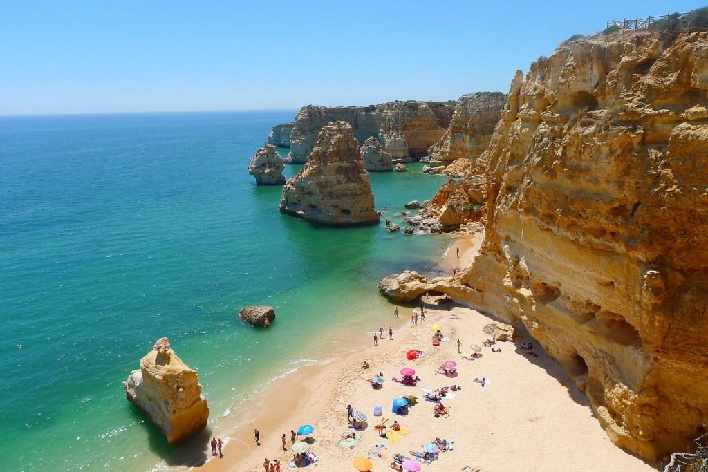 Playa de Praia de Faro, Algarve