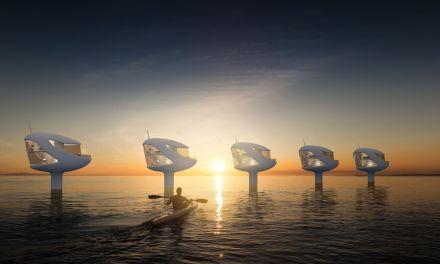 SeaPod una casa sobre el mar para los nómadas digitales