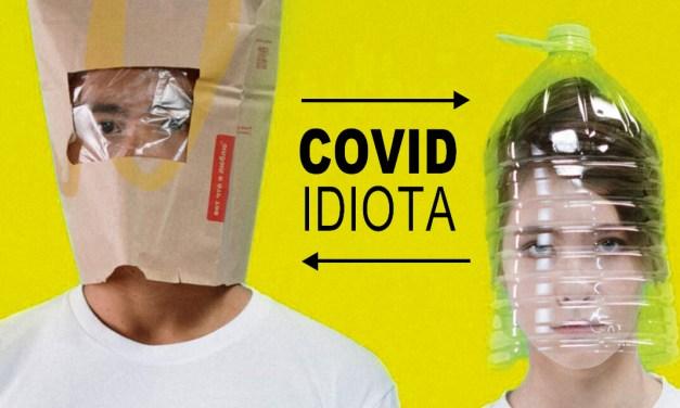 La palabra covidiota es aceptada por la RAE pero con significado ambiguo