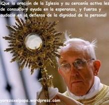 Papa Francisco Adoración Eucarística_Yorezoxelpapa