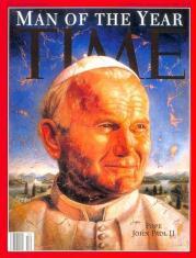 Juan Pablo II_Hombre del año para Time