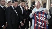 Papa Francisco y el San Lorenzo