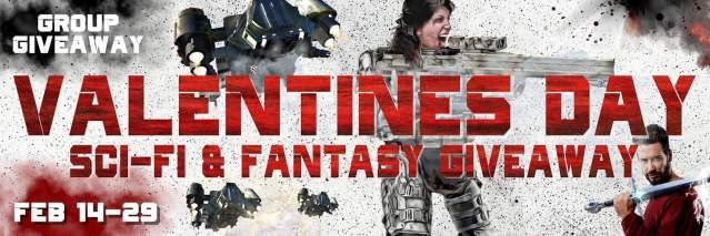 Valentine's Day Sci-Fi and Fantasy giveaway