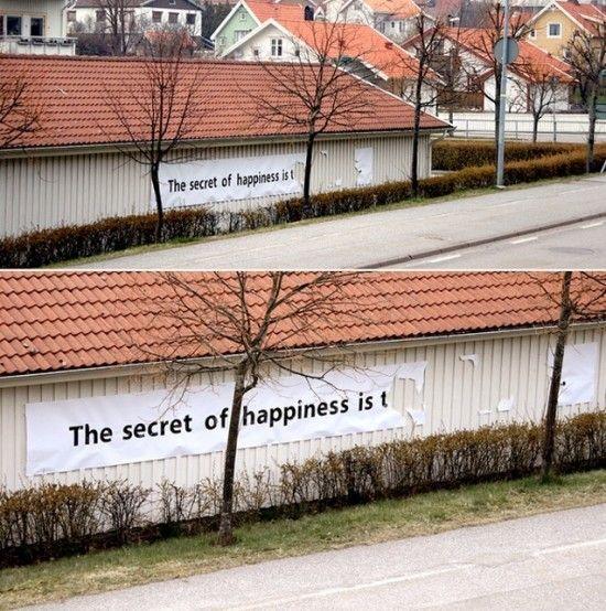 felicidad secreto