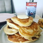 10 minutes fluffy pancakes