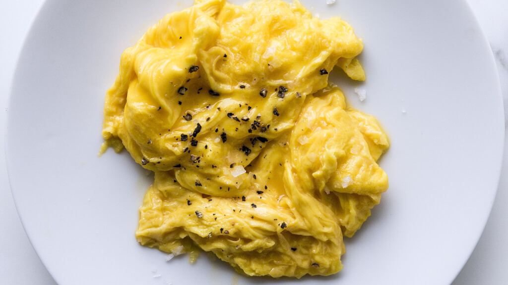 BA's Best Soft Scrambled Eggs