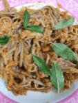 Chickpea Bell Pepper Pasta