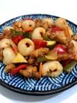 Lychee Sweet Sour Chicken