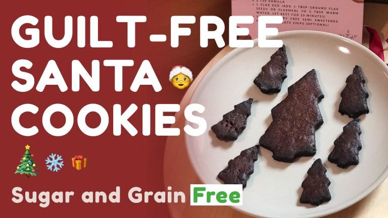 Guilt Free Santa Cookies