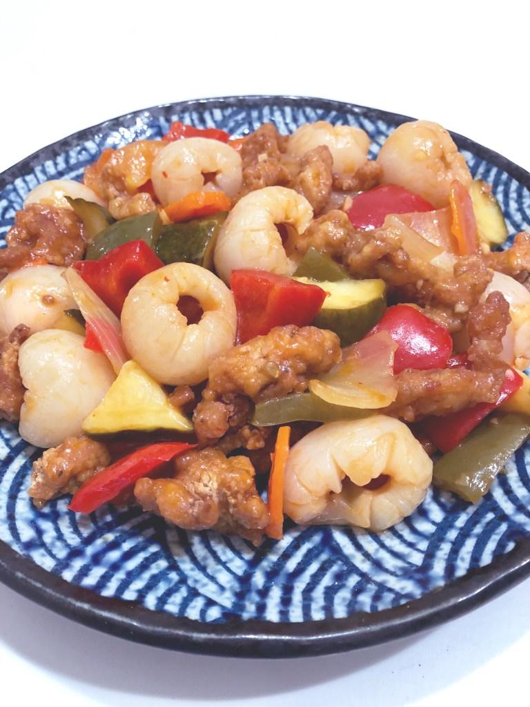 Lychee Sweet & Sour Chicken