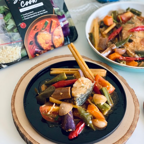 Simply Cook Vegetable Kit~Tomyum Fish