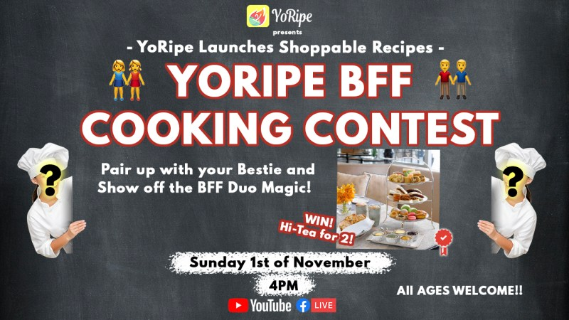 YoRipe BFF Cooking Contest 2020