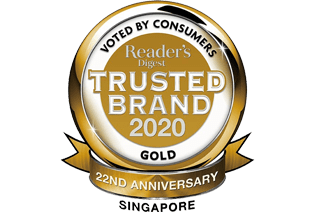 trusted brand 2020 logo