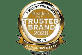 trusted brand 2020 logo