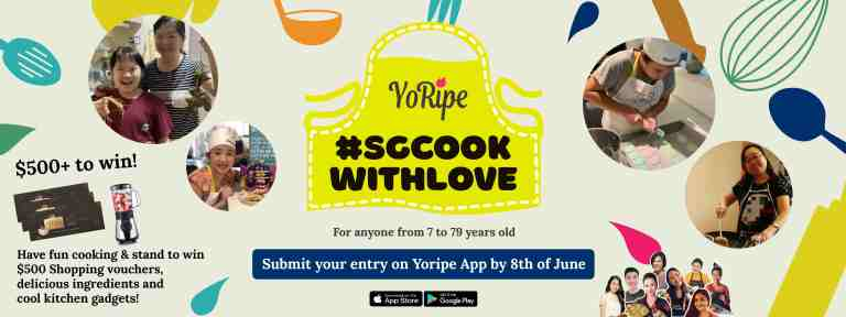 SG Cook With Love Banner