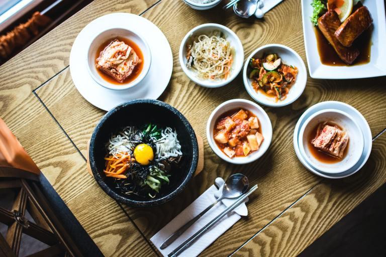 Korean food traditional