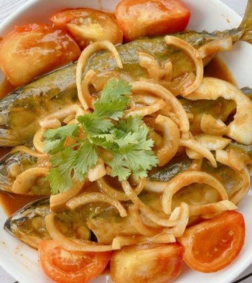spicy tamarind grilled fish air fried