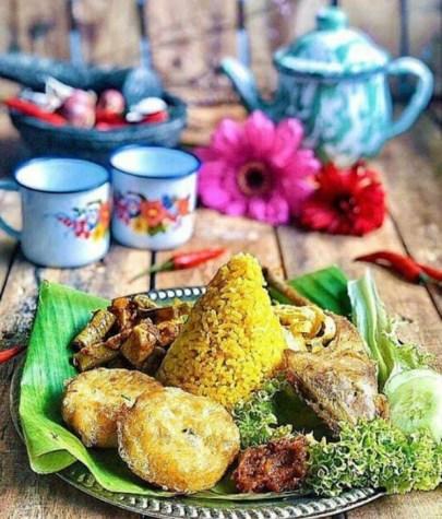 turmeric fried chicken hari raya party food recipe