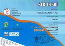 2013-06-08 - SEMINAR STEM CELL PANITIA