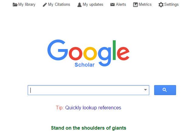 Menulis Daftar Pustaka dengan Bantuan Google Scholar