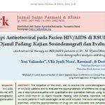 Terapi Antiretroviral pada Pasien HIV/AIDS di RSUP. Dr. M. Djamil Padang: Kajian Sosiodemografi dan Evaluasi Obat