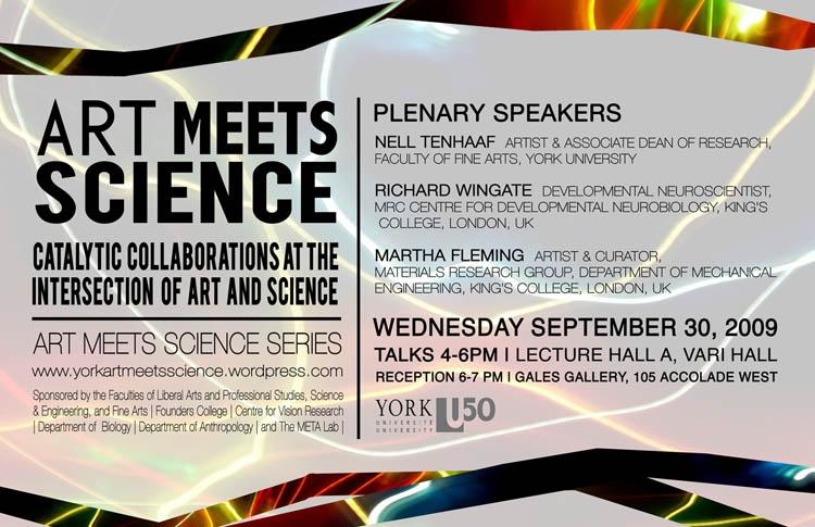 artmeetsscience plenary poster