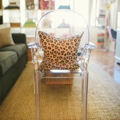 Acrylic Side Chair With Cushion Slipcovers For Queen Anne Chairs How To Buy A Ghost York Avenue