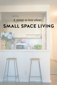 Small Space Living: Why I Love It - York Avenue