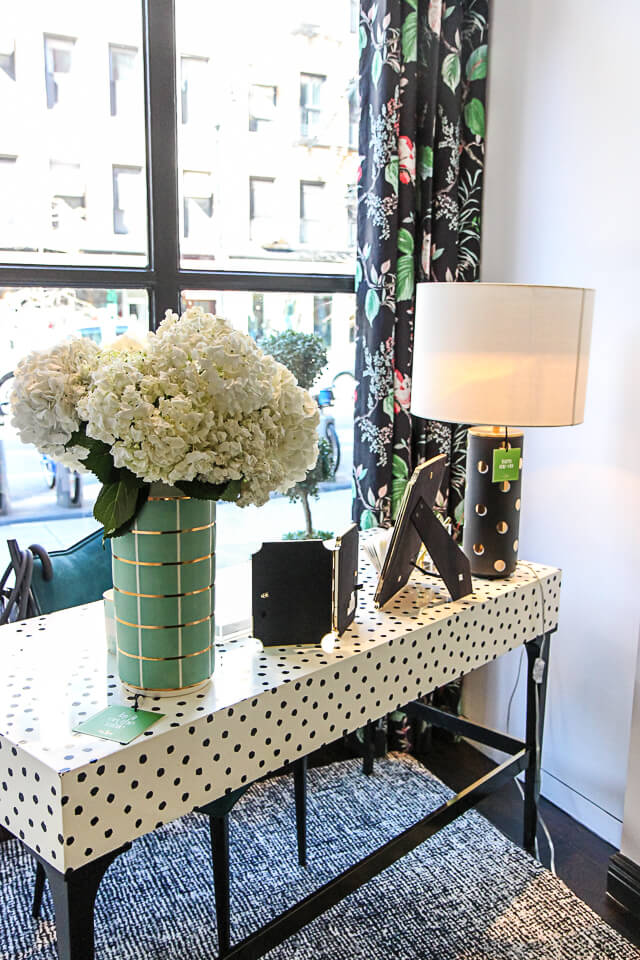 NYC Guide Kate Spade Home PopUp Shop  York Avenue