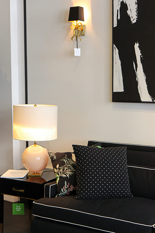 sofa with chair black friday deals canada nyc guide: kate spade home pop-up shop - york avenue