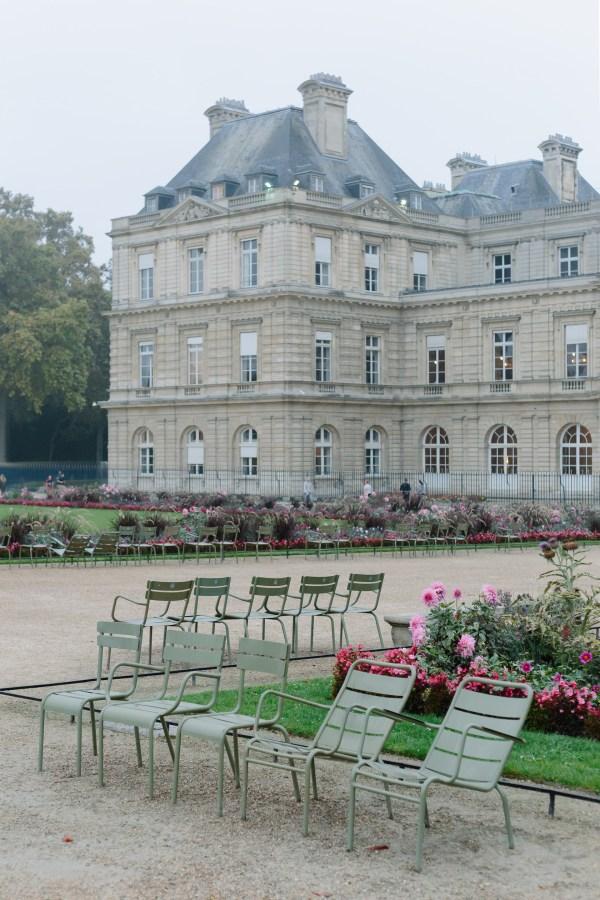 Paris Essays Jardin Du Luxembourg York Avenue