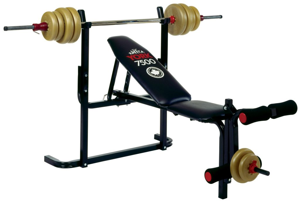 7500 Bench Press Machine Home Gym Equipment York Barbell