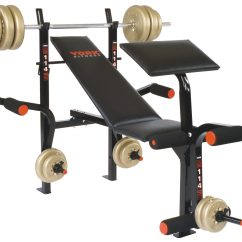 Gym Bench Press Chair Kidkraft Aspen Table And Set B114 Machine Home Equipment York Barbell