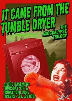 it came from the tumble dryer