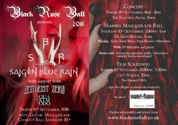 Black Rose Ball Band Flyer 2016 web