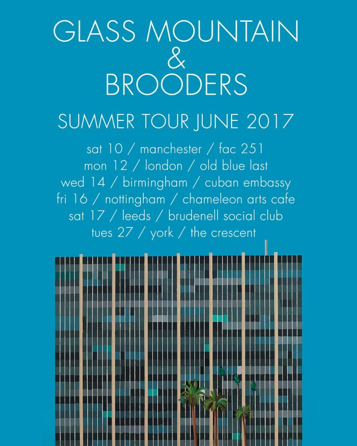 Glass Mountain + Brooders Tour Poster