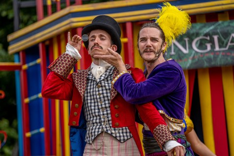 Friday 6th August 2021 Picture Credit Charlotte Graham Picture Shows: York Theatre Production images around the world in 80 days